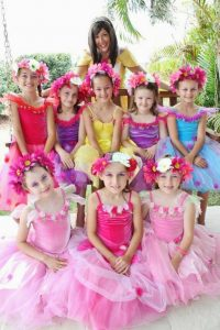 Flower princesses