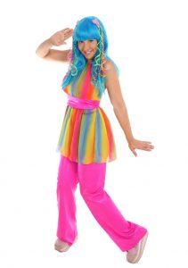 Rainbow Groovy Girl